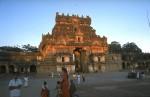 The temple gate at Brihadiswarar, in Thanjavur
