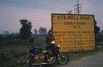 Where the Stilwell road starts for Burma – but it was one road I couldn't take.