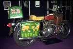 The bike in retirement, in the Coventry museum.